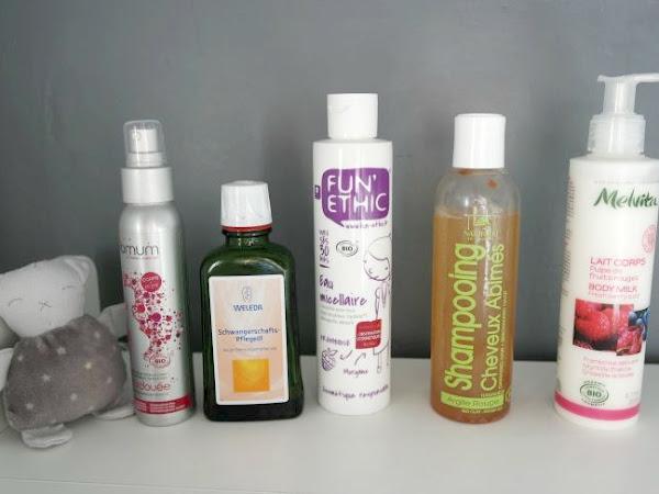 Mes produits spécial grossesse :-)