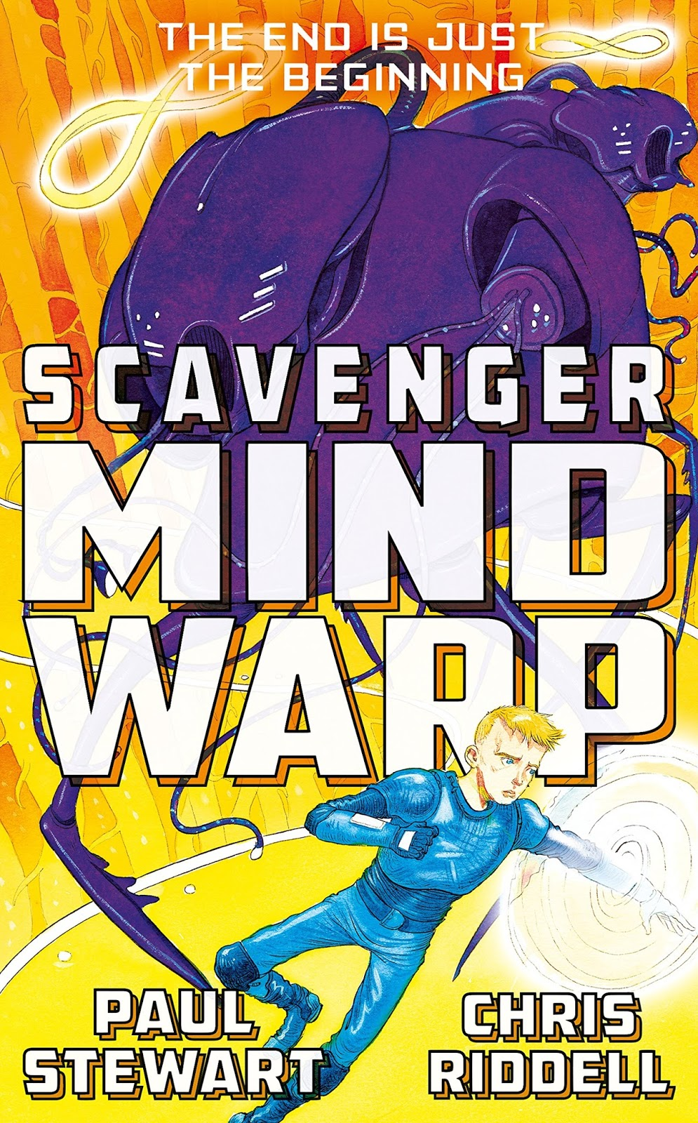 Paul Stewart & Chris Riddell  Scavenger: Mind Warp  Published By  Macmillan Children's Books 14 July 2016)