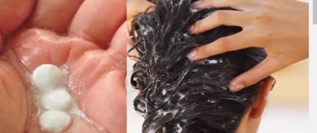 سبحان الله.....بالفيديو وضعت الاسبيرين على شعرها  وبعد بضع ساعات كانت النتيجة !!