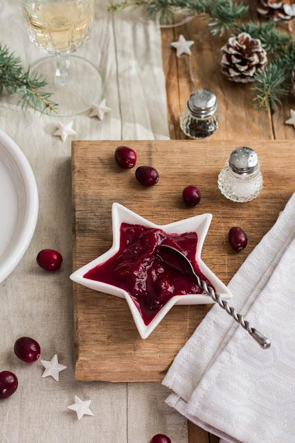 Sauce aux cranberries