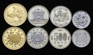 moedas da era Reiwa