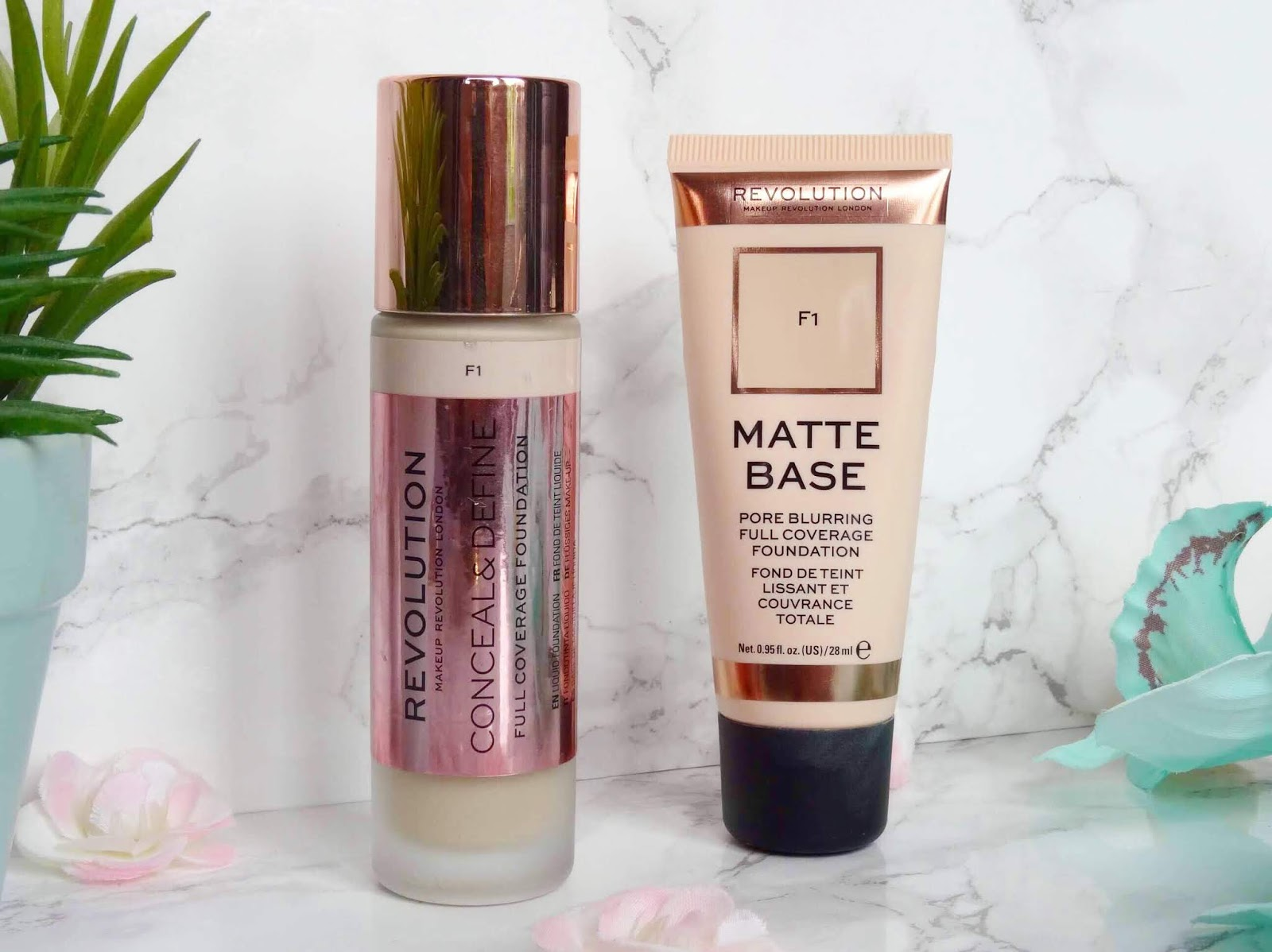 Two Bases From Makeup Revolution
