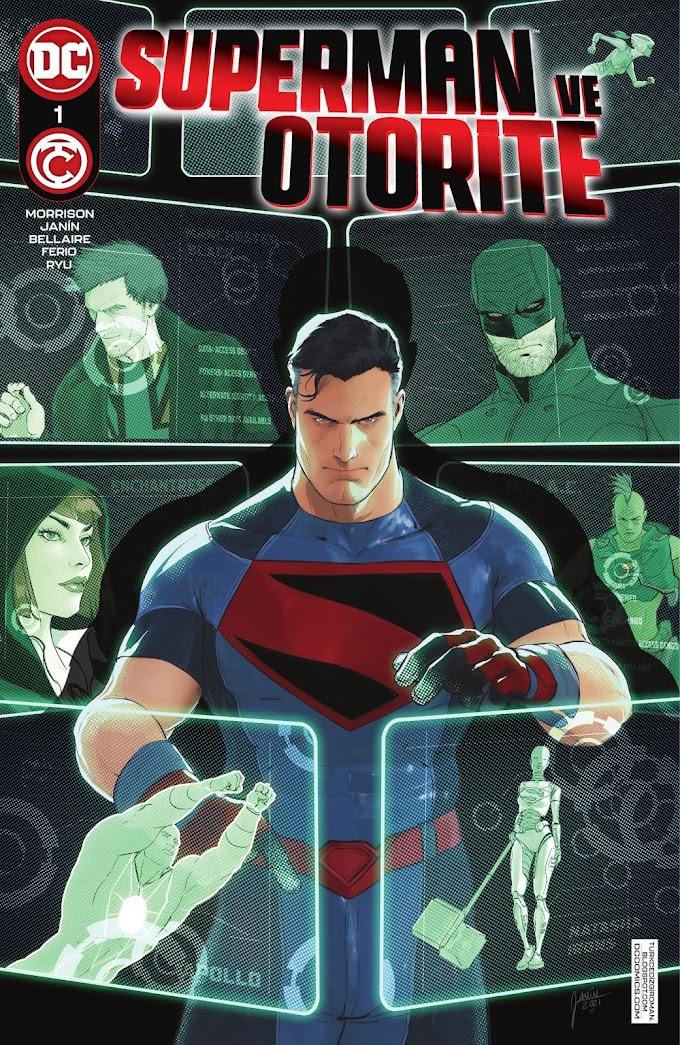Superman ve Otorite #1 [ÇIKTI!]