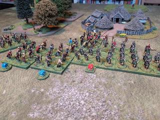 Asterix piles into the Legionaries