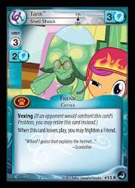 My Little Pony Tank, Shell Shock High Magic CCG Card