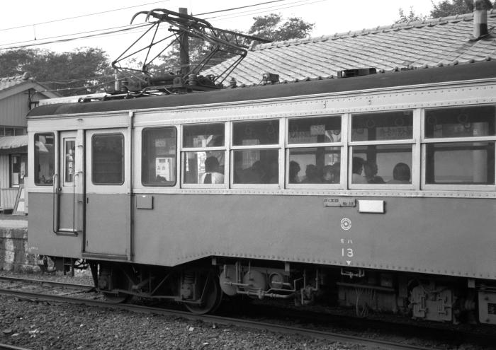 日立電鉄モハ13