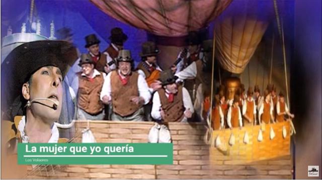 """👩Pasodoble """"La mujer que yo queria"""" 🛬 Comparsa """"Los Volaores"""" con Letra🖍️"""