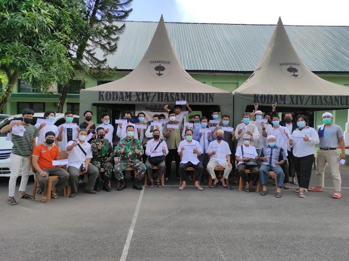 TNI Apresiasi Vaksinasi Massal PC LDII Tamalate