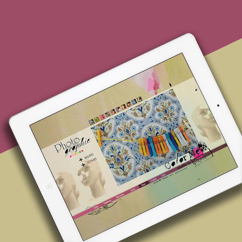 Site web ColorMe Studio - Paris