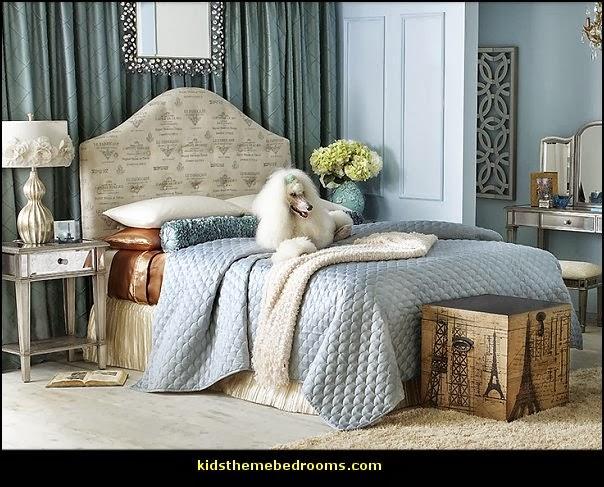 Pink Poodles Paris style bedroom decorating paris style ...
