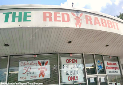 The Red Rabbit Drive-In Restaurant in Duncannon Pennsylvania