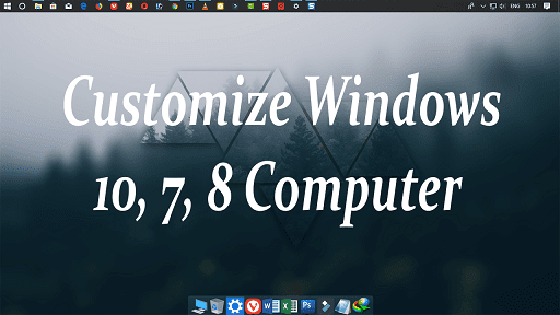 Windows Computer Ko Customize Kaise Kare