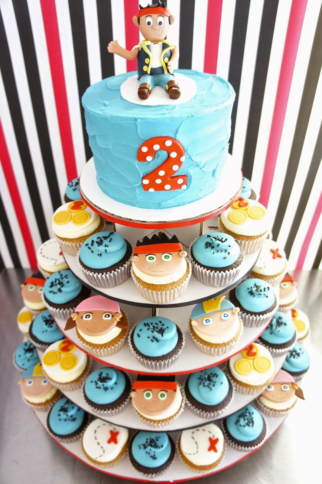 jake and the neverland pirates cupcakes - photo #8