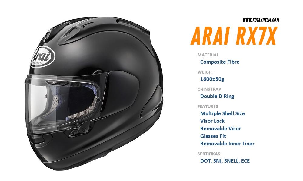 Arai RX7X Full Face Helmet