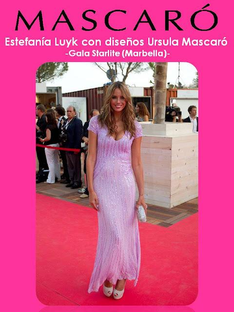 Los estilismos-1 … GALA STARLITE 2012. MARBELLA.