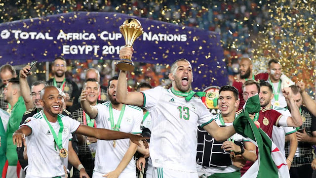 AFCON: Algeria Emerges As 2019 CAF Champions