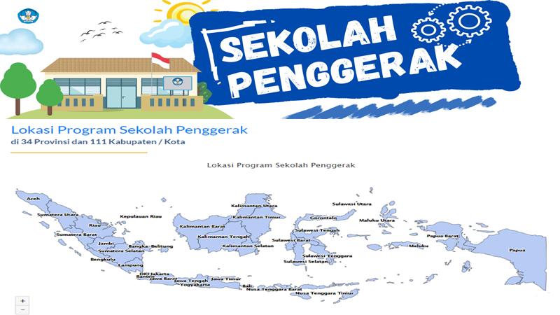 Lokasi Program Sekolah Penggerak