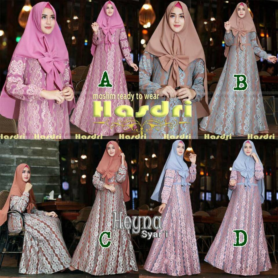Butik Ahzaku Heyna By Hasdri Aretha Tunik 4warna Tersedia Dalam 4 Warna