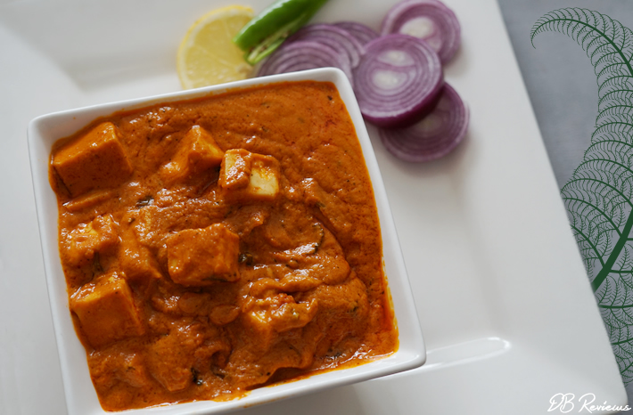 Chef Akila's Vegetarian and Vegan Curries - Paneer Butter Masala