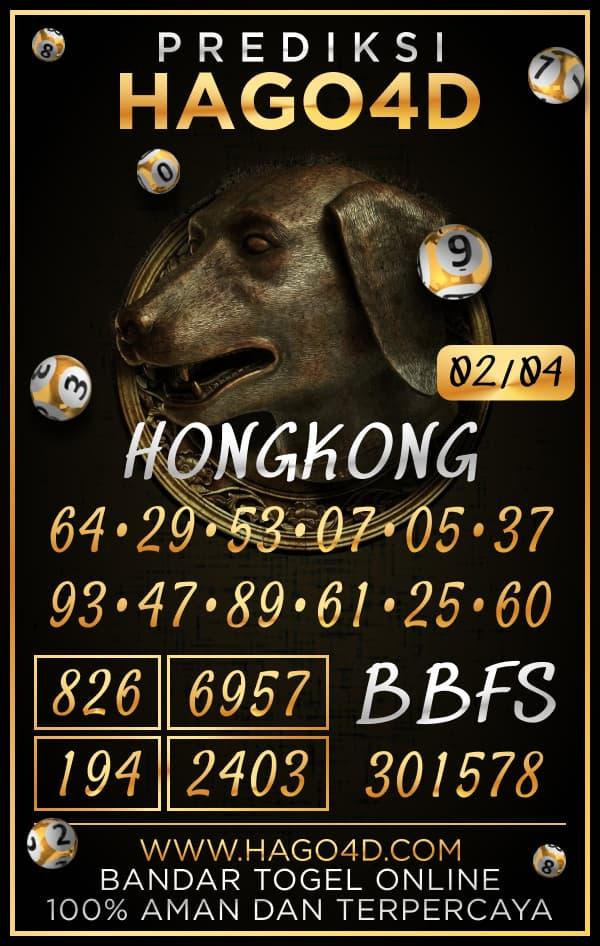 Prediksi Hago4D - Selasa, 2 April 2021 - Prediksi Togel Hongkong
