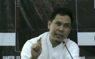 Munarman Jelaskan Bahaya Revisi UU Anti-Terorisme
