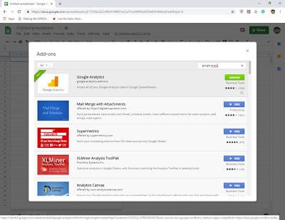 Google Analytics plug in