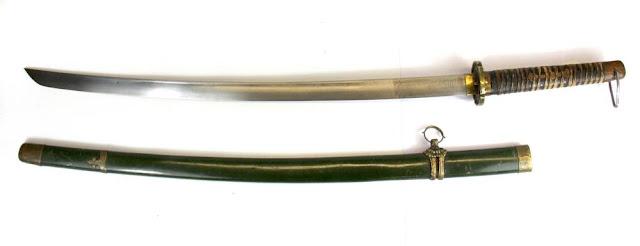 shin gunto japan sword