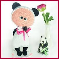 Muñeco oso panda