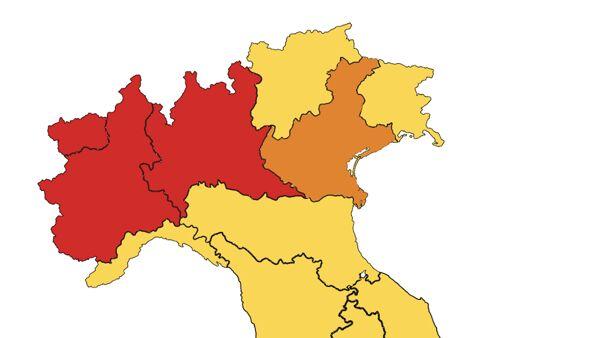 Misure restrittive per altre 4 regioni