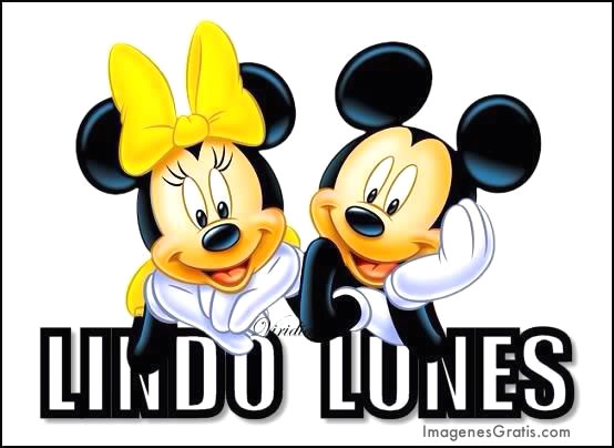 Mickey & Minnie Mouse Lindo Lunes