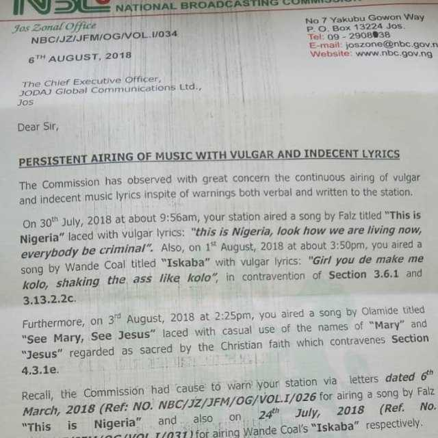 """""""I might sue NBC if ban on 'This is Nigeria' is not lifted"""" – Falz"""