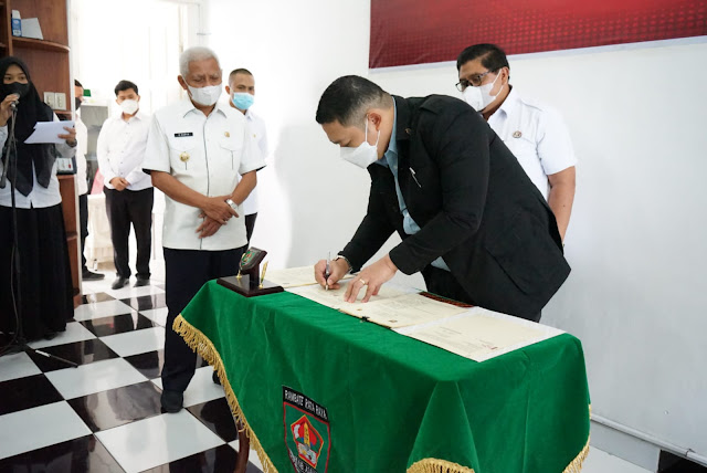Pemkab Asahan Teken Kerjasama Dengan Putera Sampoerna Foundation Terkait Pusat Belajar Guru.