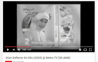 Iklan Softener So Klin 2003
