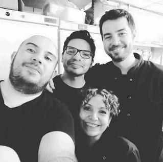 Con Flor, Jorge y Rodrigo en Pix