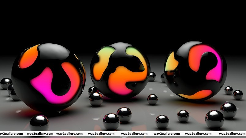 Balls design wallpaper