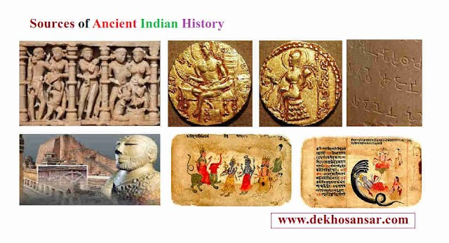 study a Sources of Ancient Indian History at the time period