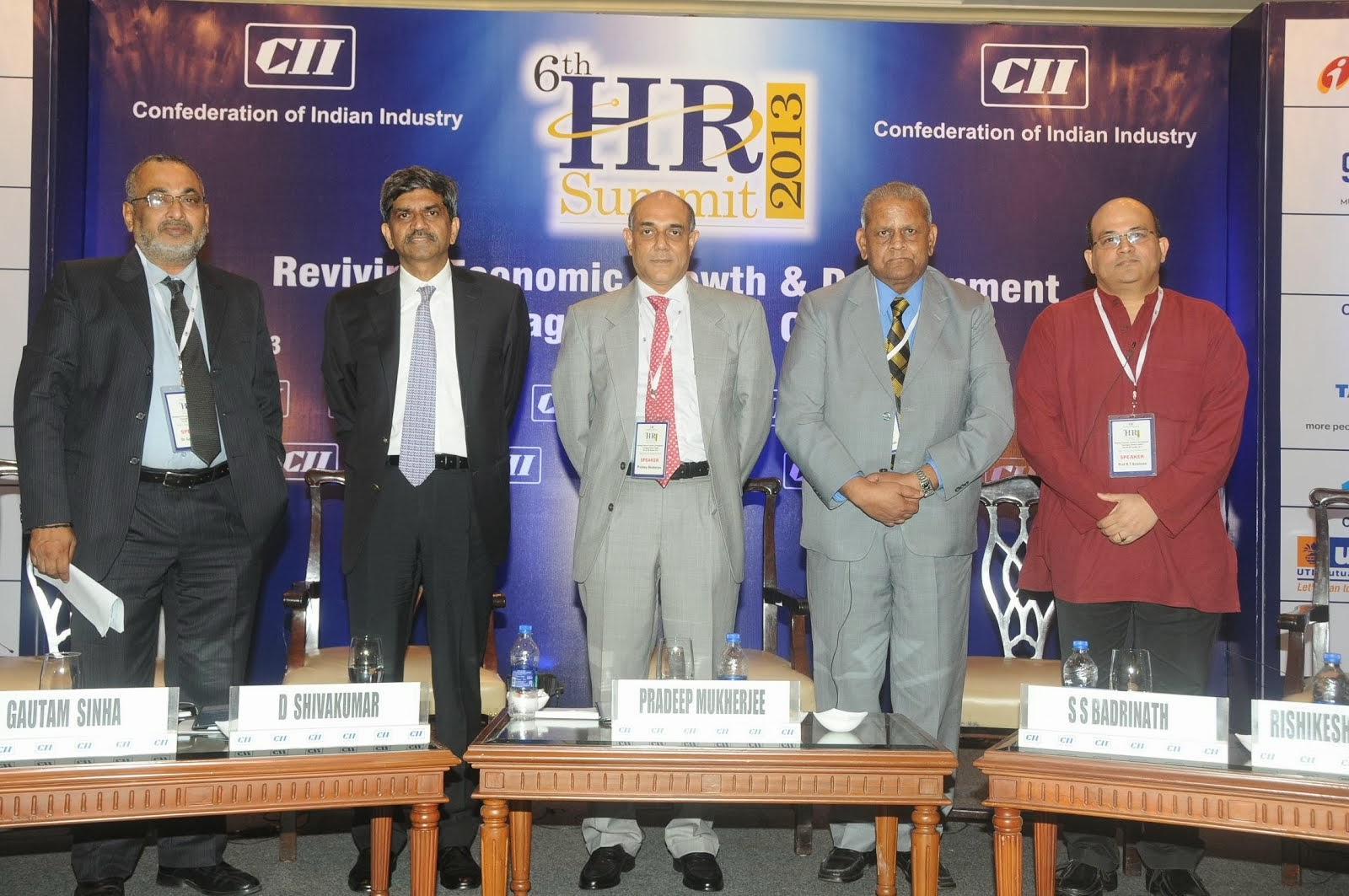 At CII HR Summit