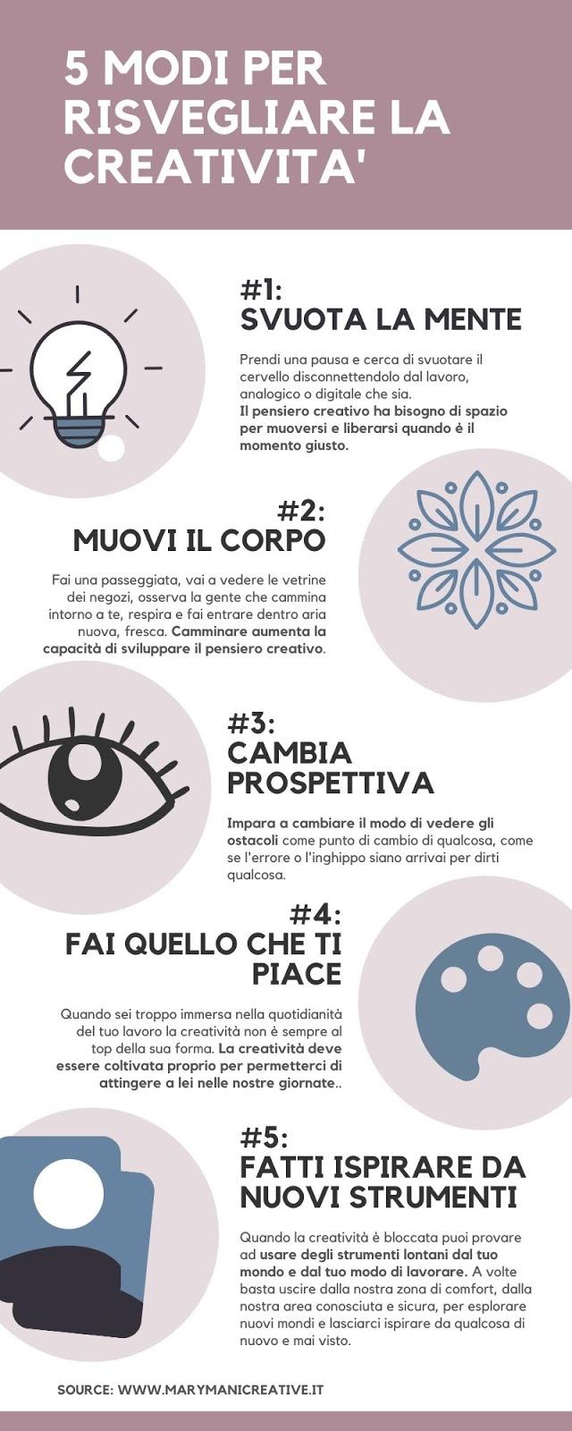 infografica-5-modi-per-risvegliare-la-creativita
