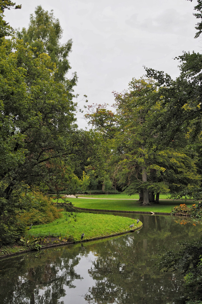 Le parc de Frederiksberg à Copenhague