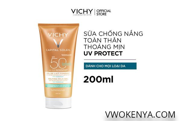 Kem chống nắng Vichy Capital Soleil Ideal Soleil Ultra-Melting Mik Gel (SPF 50 PA+++)