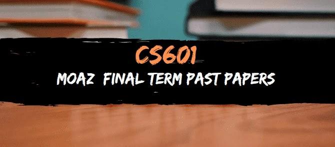 cs601 moaz