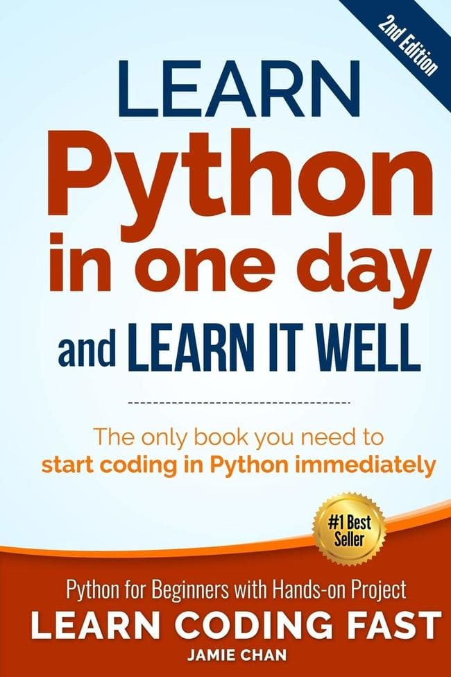 learn python in one day and learn it well free pdf