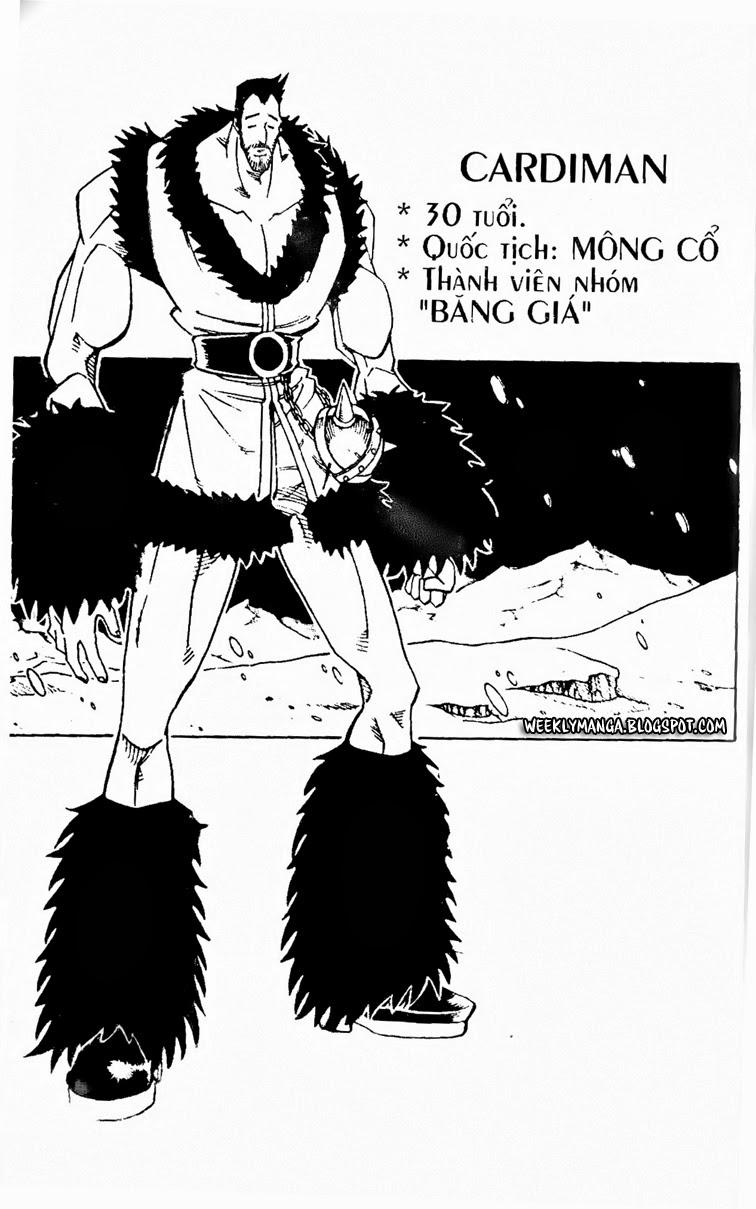 Shaman King [Vua pháp thuật] chap 131 trang 16