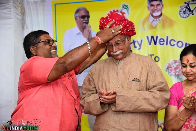 Felicitation for Pusapati Ashok Gajapathi Raju