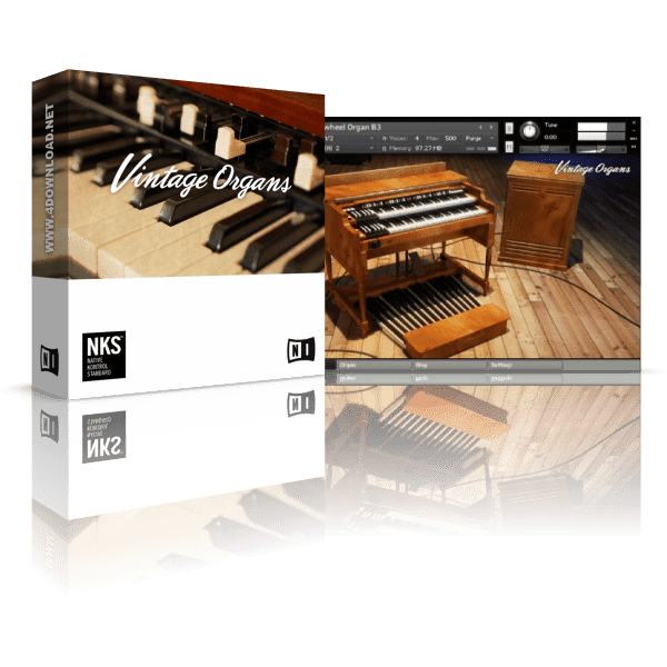 Native Instruments Vintage Organs KONTAKT Library