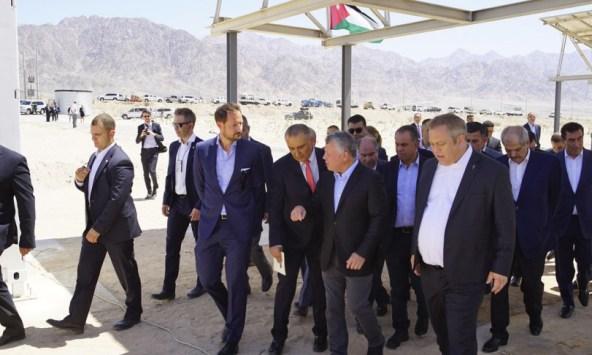 His Majesty King Abdullah II of Jordan and His Royal Highness Crown Prince Haakon of Norway
