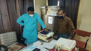 राज्य मंत्री श्री कावरे ने भोपाल के आयुर्वेद चिकित्सालय का किया निरीक्षण