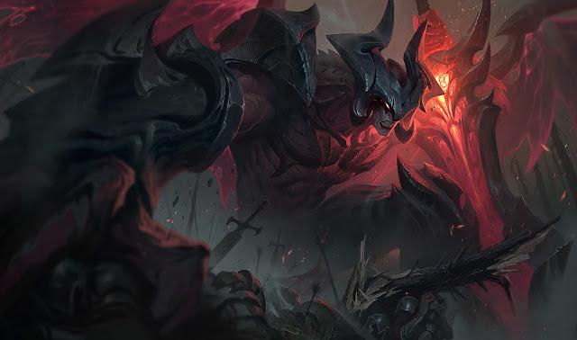 THE DARKIN BLADE AATROX - league of legends
