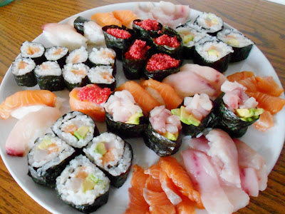 Sushi homemade 3: Sushi party con 4 nuovi Gunkan