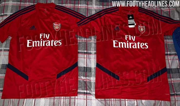 cd7c62ead8a Adidas Arsenal 19-20 Training Jersey Leaked - Footy Headlines